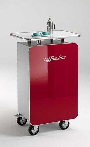 MS-Schuon Theke Coffee Bar - rot