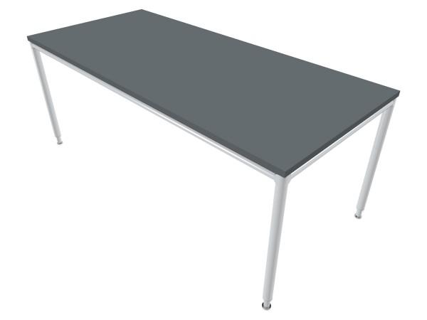 Schreibtisch S-Desk 160 cm - Bosse Modul Space - schwarz