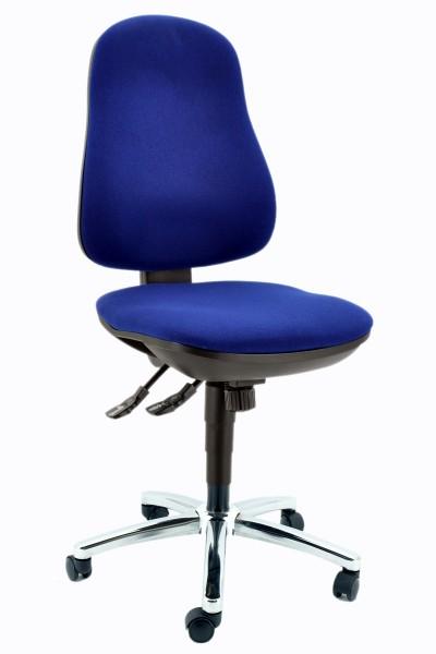 Drehstuhl Synchro Steel - blau - Topstar
