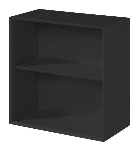 Regal niedrig - 1 Fachboden, schwarz