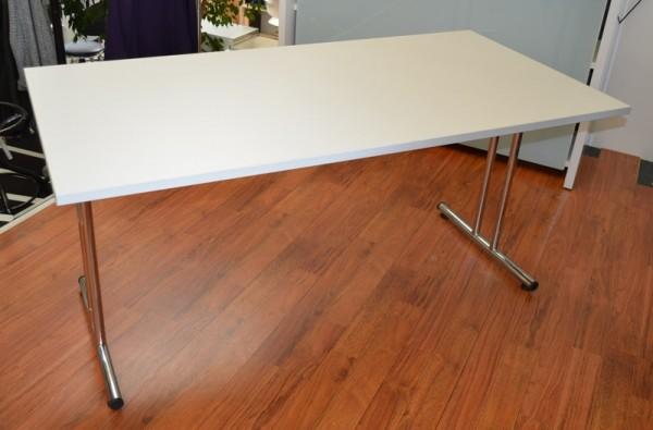 Konferenztisch / Klapptisch 160 cm - lichtgrau - Heyne
