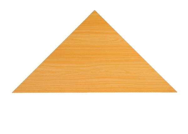 Callcenter Füllplatte Dreieck 57 cm