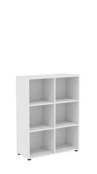 Regal - 4 Fachböden - weiß
