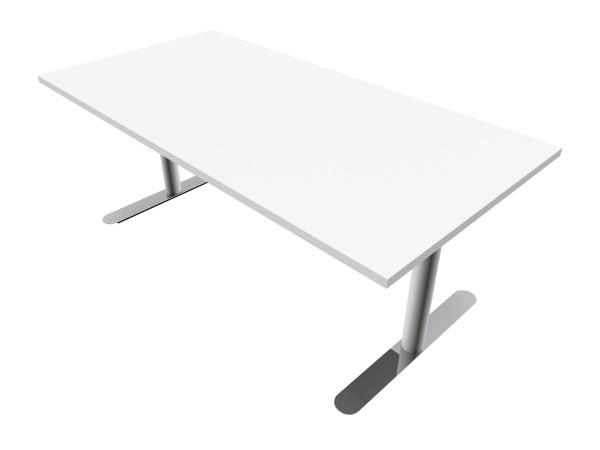 Elektrisch höhenverstellbarer Schreibtisch M3-Desk 180 cm - Bosse Modul Space - weiß