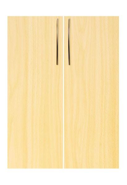 Schrankwand-System Basic: Front (Flügeltüren) für Regal 3 OH