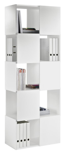 Merlon 5er-Regal - schwarz - Tema Home
