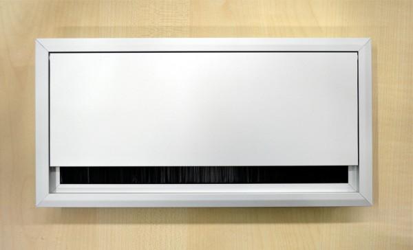 Kabeldurchführung / Kabeldurchlass, 120x240 mm, Aluminium