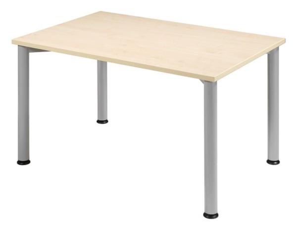 Schreibtisch gerade 120 cm, stufenlos höhenverstellbar