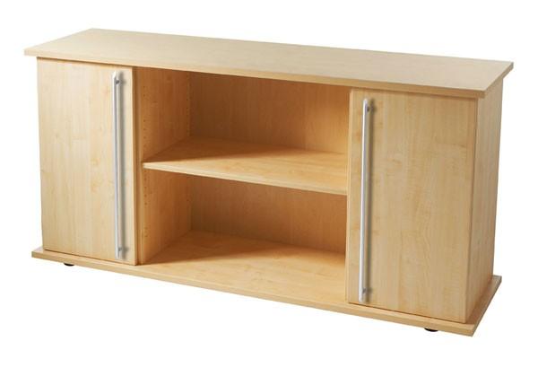 Sideboard: Schrank SB2T mit zwei Fächern und Drehtüren