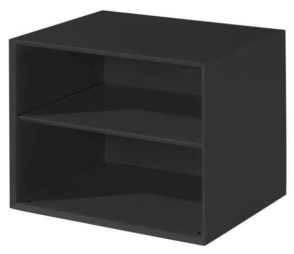 Beistellregal - 1 Fachboden, schwarz