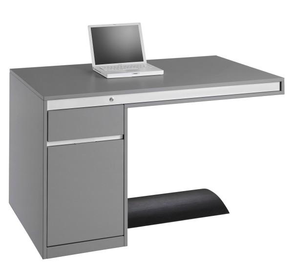 Schreibtisch Friday 130 Cm Grau Ultom Ultom Schnäppchen