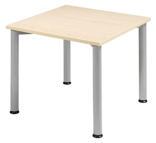 Schreibtisch gerade 80 cm, stufenlos höhenverstellbar