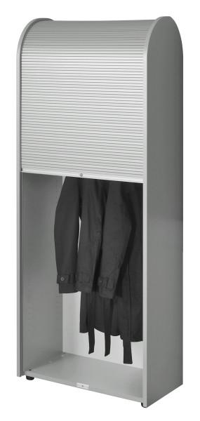 Garderobenschrank Roll-Up - silber - Siqnatop